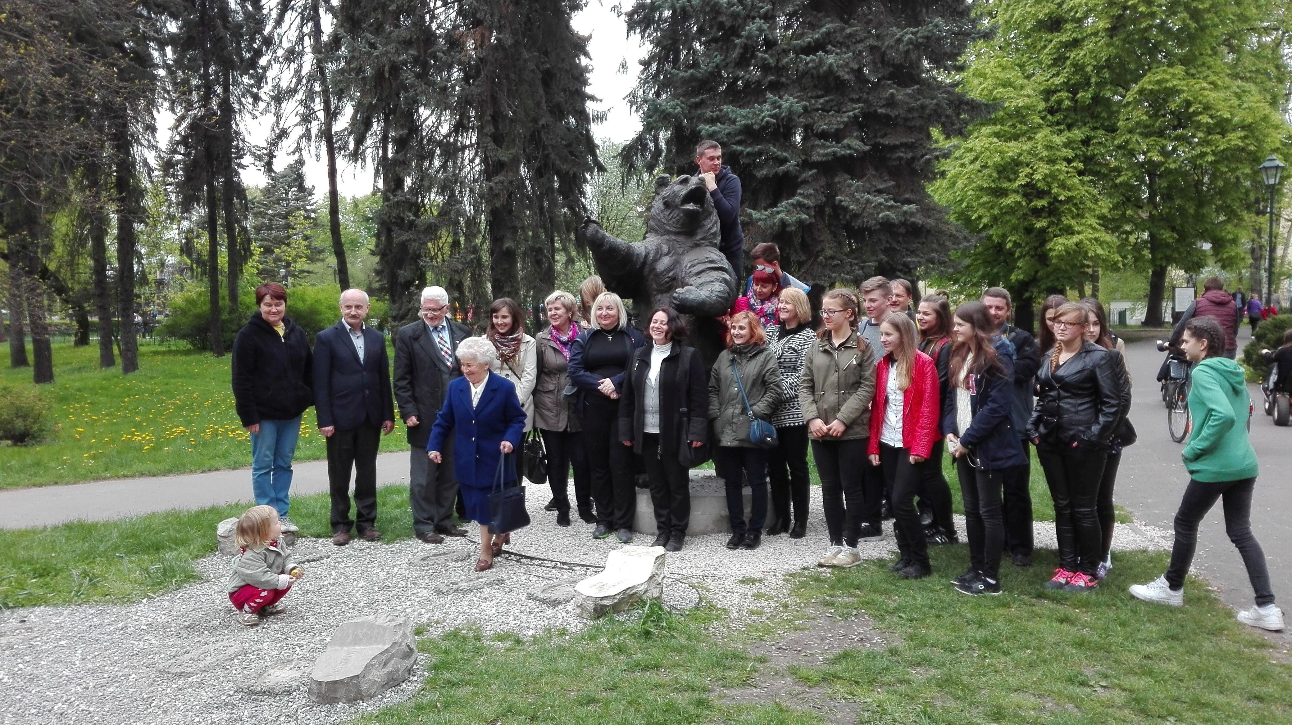 Park Jordana - Pomnik Wojtka wrzesień 2016